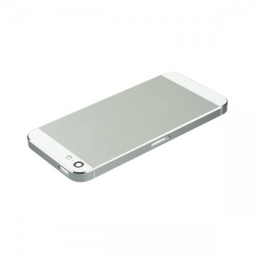 Carcasa Trasera iPhone 5 Gris - Blanco