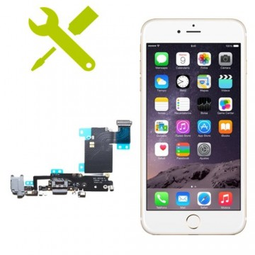 Reparación Conector Carga iPhone 6s Plus