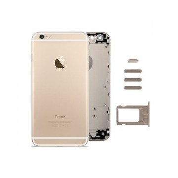 Carcasa Trasera iPhone 6 Plus Oro