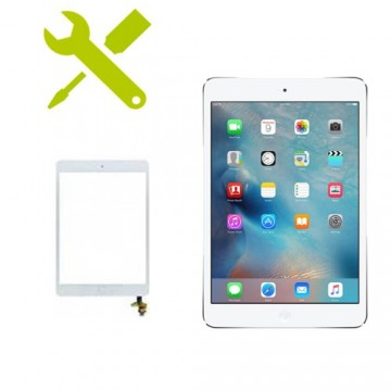 Reparación Cristal Digitalizador iPad Mini 3 Blanco