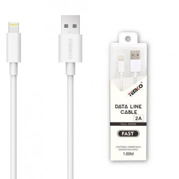 Cable Lightning 1 Metro Blanco