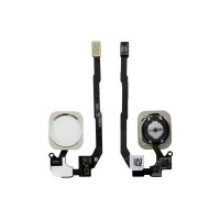 Cable Flex con Botón Home iPhone 5S - iPhone SE Blanco